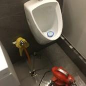 廁所排水孔冒水
