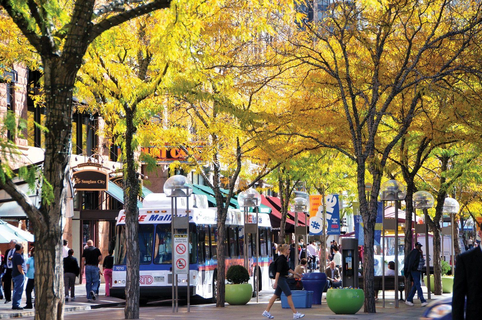 Downtown Denver Restaurants 16th St Mall