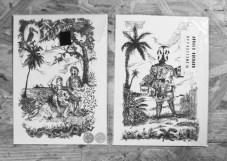 PACK/2 dessins AR/Carte postale