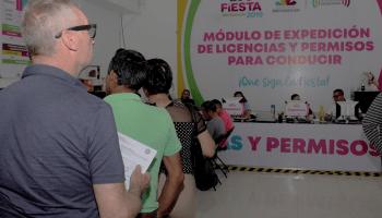 Instalan Módulo De Expedición De Licencias En La Expo Fiesta
