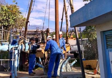Mantenimiento preventivo al pozo Punta Alba