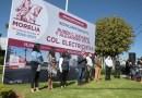 Inaugura reencarpetamiento de dos vialidades de Morelia