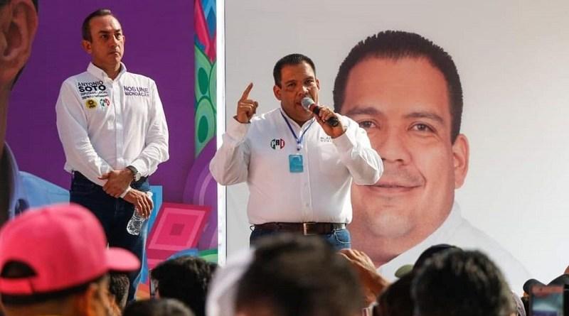 Arranca Bladimir Alejandro González Gutiérrez, campaña a la alcaldía de Tarímbaro.