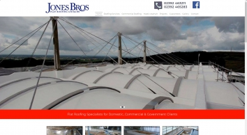 Jones Bros Flat Roofing Ltd Roofers 02392463211 Hayling
