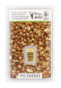 1 g Goldbarren Auropelli-Barren Responsible-Gold von ESG Valcambi