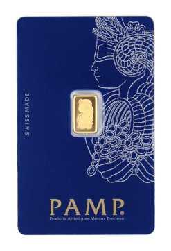 1 g Goldbarren Fortuna von PAMP