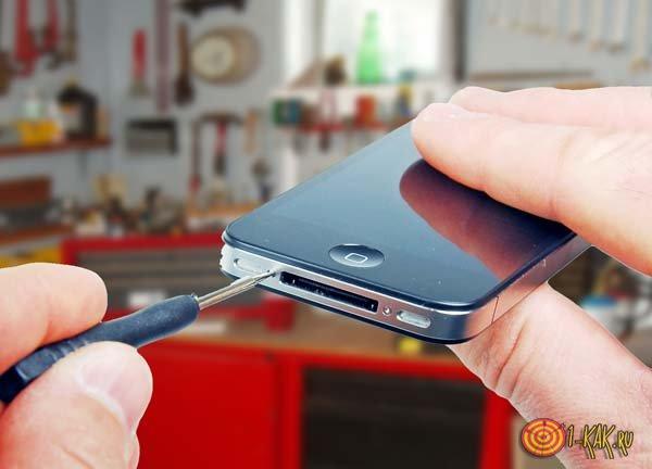 Riparare smartphone indipendentemente