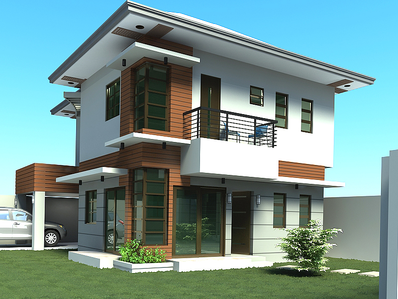 Two storey house plans in philippines home design and style for 2 storey house design philippines
