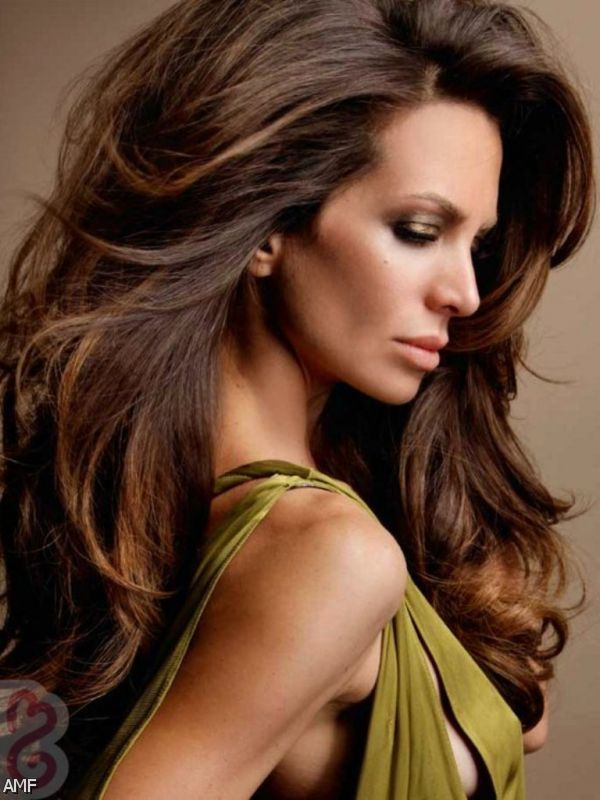 hair color with caramel lowlights 2015 2016 fashion trends 2016 2017