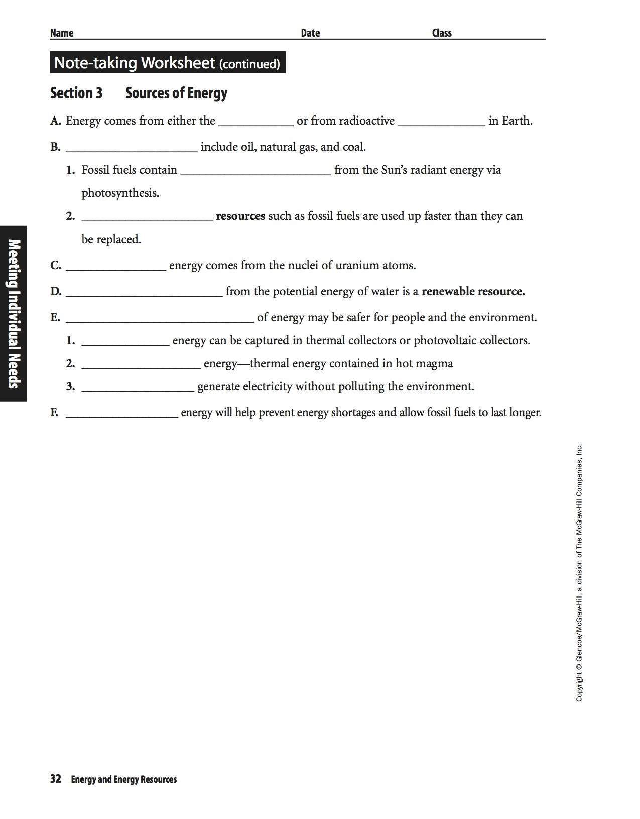 Mcgraw Hill Worksheet Pages 15 16