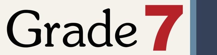 Image result for 7th grade logo