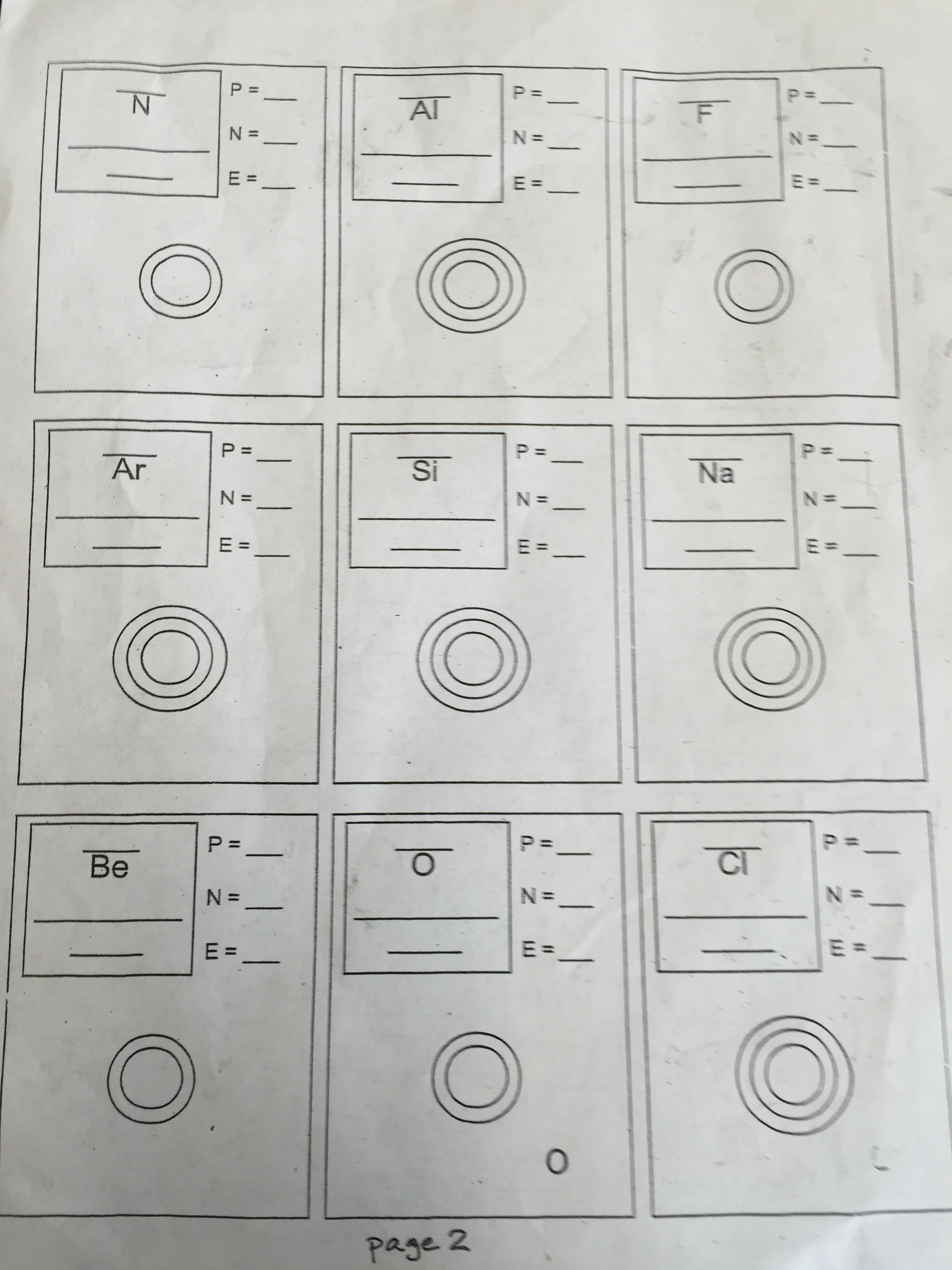 Drawing Atoms Worksheet Answers