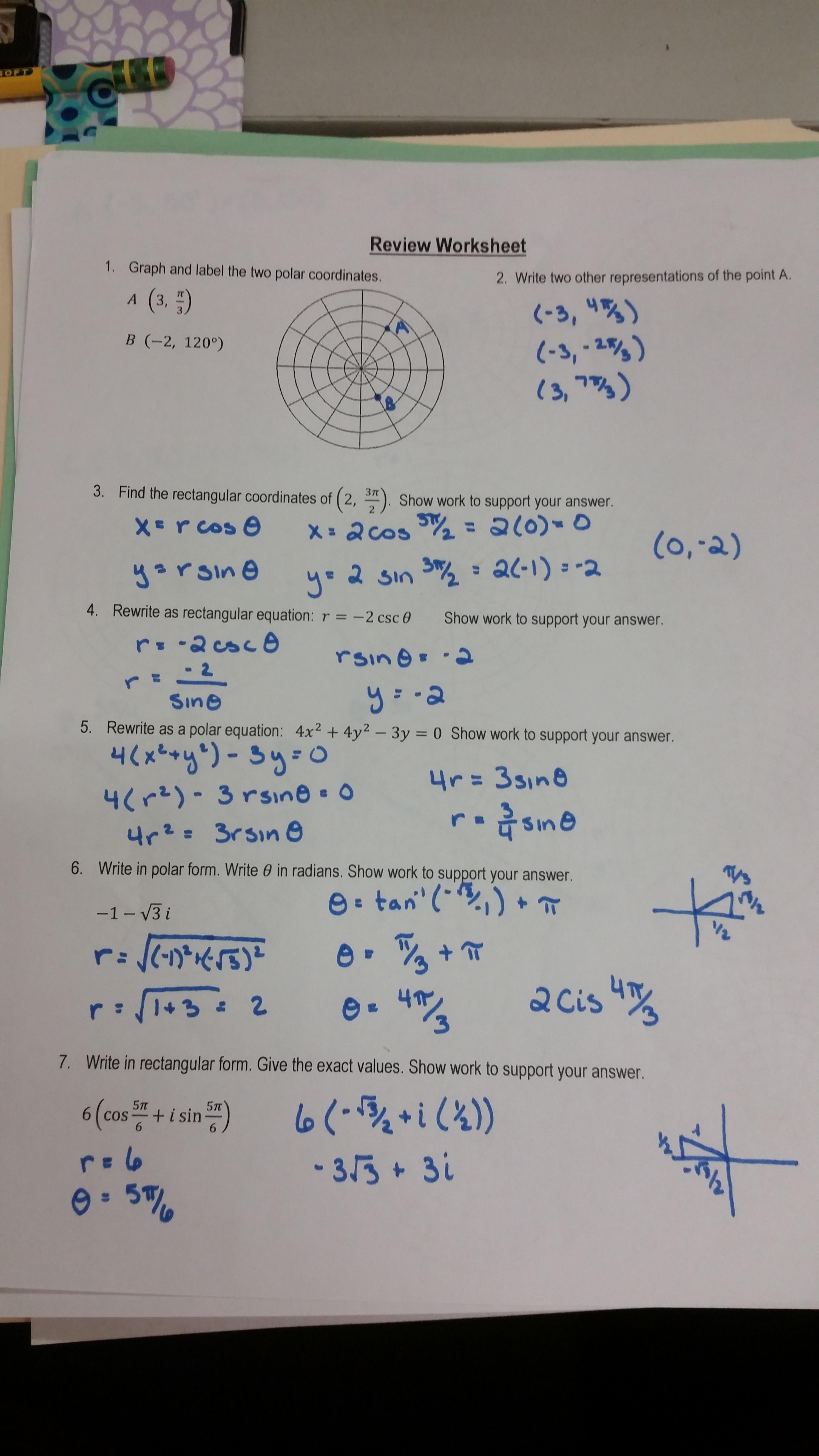 Logarithmic Equations Worksheet