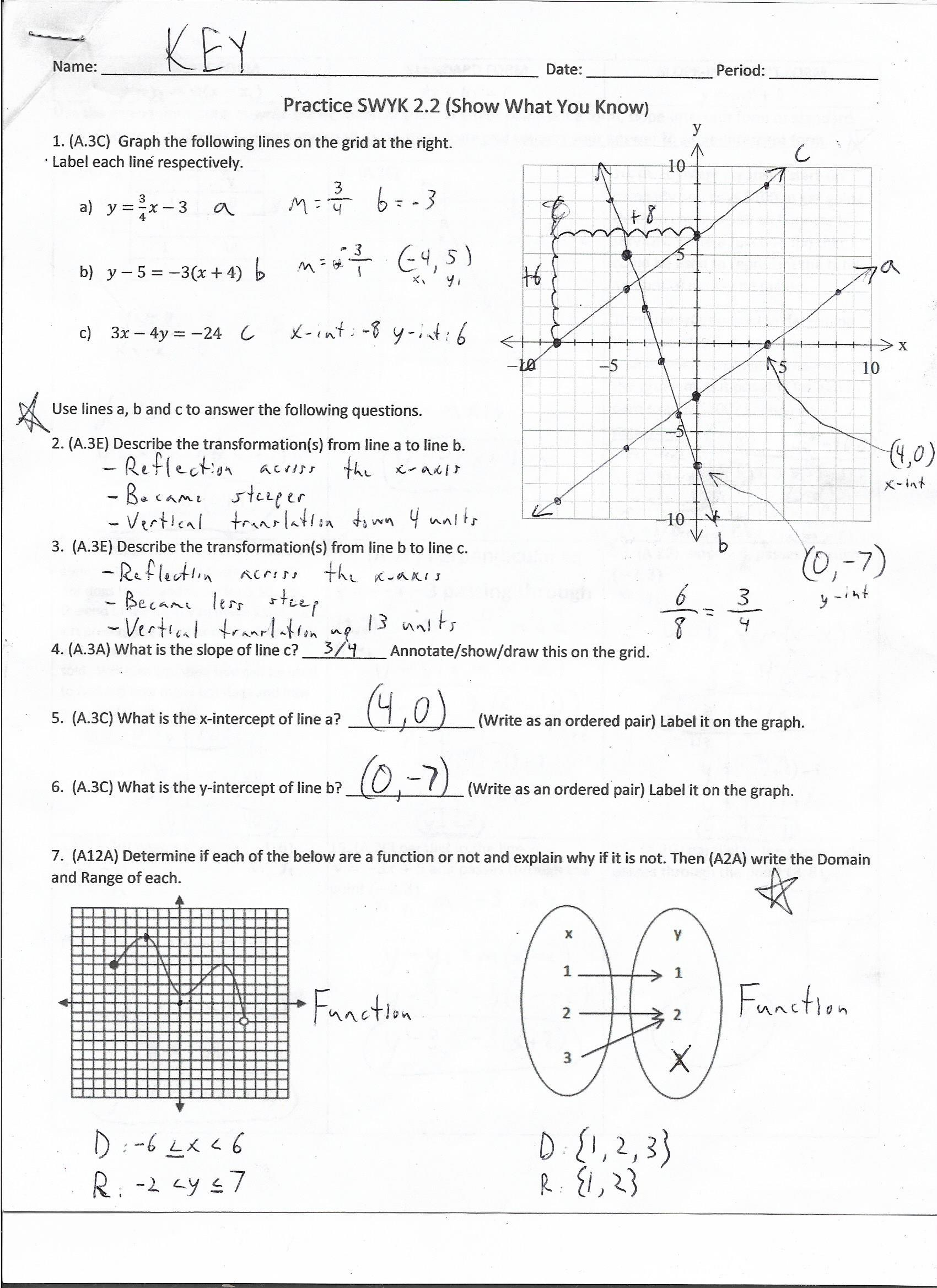 Unit 2a Reasoning With Linear Equations And Inequalities