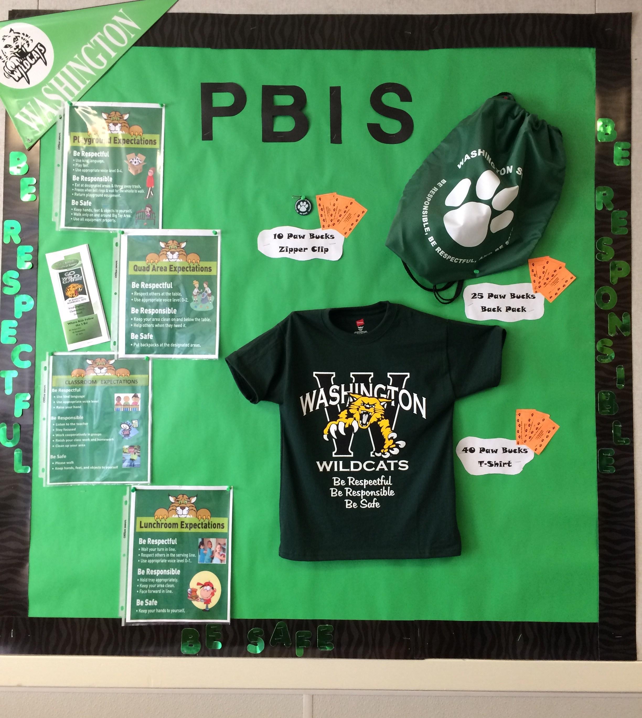 Students Pbis Washington Elementary