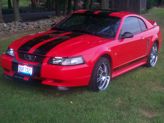 American Racing Rims And Tire Mustang