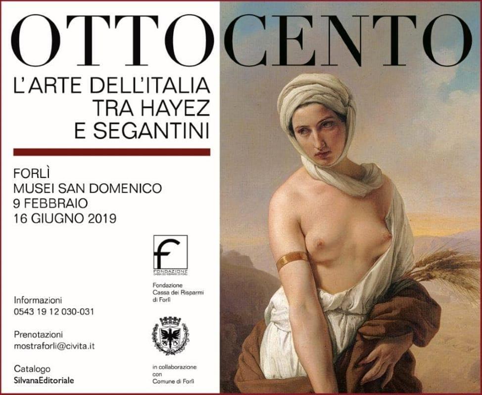 Risultati immagini per OTTOCENTO L'arte dell'Italia tra Hayez e Segantini - forl