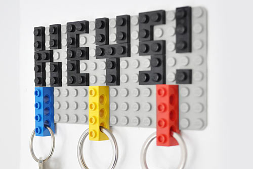 LEGO DIY Key Hanger by Felix Grauer in style fashion home furnishings  Category