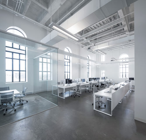BLUE Communications Office Space by Jean Guy Chabauty and Anne Sophie Goneau in interior design Category