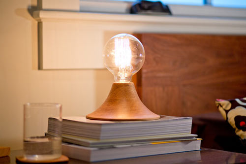 Minimalist Lamp called Aurora by The Good Flock in home furnishings Category