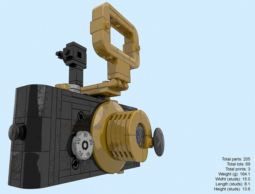 Iconic 1914 Ur-Leica camera recreated as LEGO could become an actual set