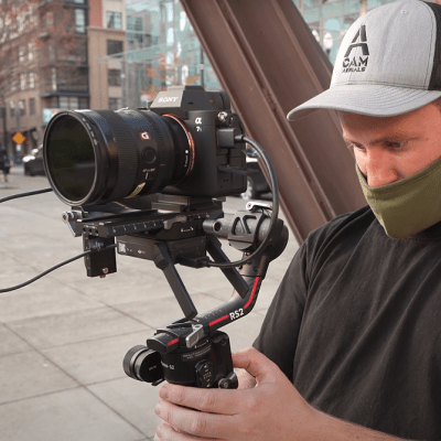 Watch as Via films shoots with the DJI RS 2 gimbal in Portland, Oregon