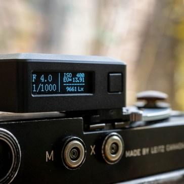 Film Fridays: A new shoe mount light meter –  meet the Keks EM-01