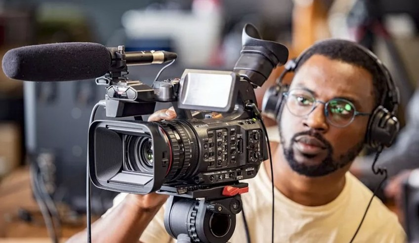 Canon XF605 professional 4K camcorder and new 8K broadcast lens announced