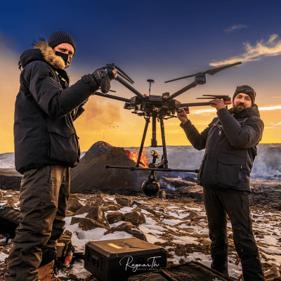 Incredible video showcases world's first 8K VR drone footage of Iceland's Mt. Fagradalsfjall volcano