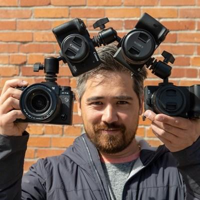 High-end APS-C mirrorless camera comparison