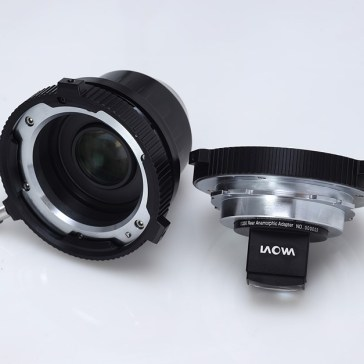 Venus Optics' PL-mount 1.33x Rear Anamorphic Adapter, 1.4x Full Frame Expander now available for $999 each