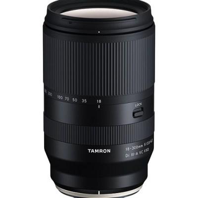 Tamron announces 18-300mm f/3.5-6.3 Di III-A2 VC VXD for Sony E mount and Fujifilm X mount