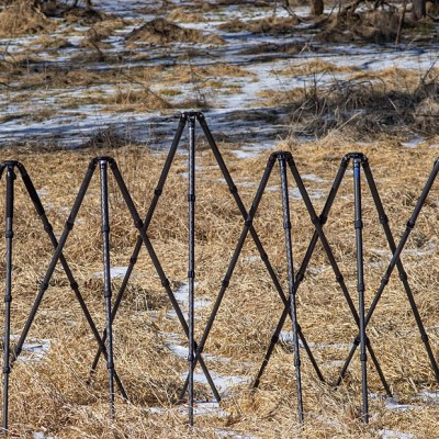 Roundup: Six Large Tripods For Heavy Duty Use