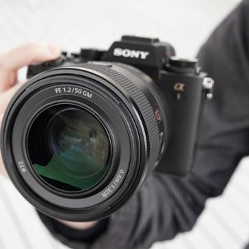 Sony announces new ultra-fast FE 50mm F1.2 GM lens