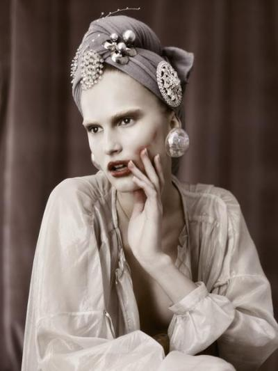 Alla Kostromicheva by Kevin Macintosh for 125 Magazine #13 Luxury