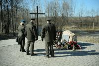 Miejsce katastrofy prezydenckiego tupolewa w Smoleńsku
