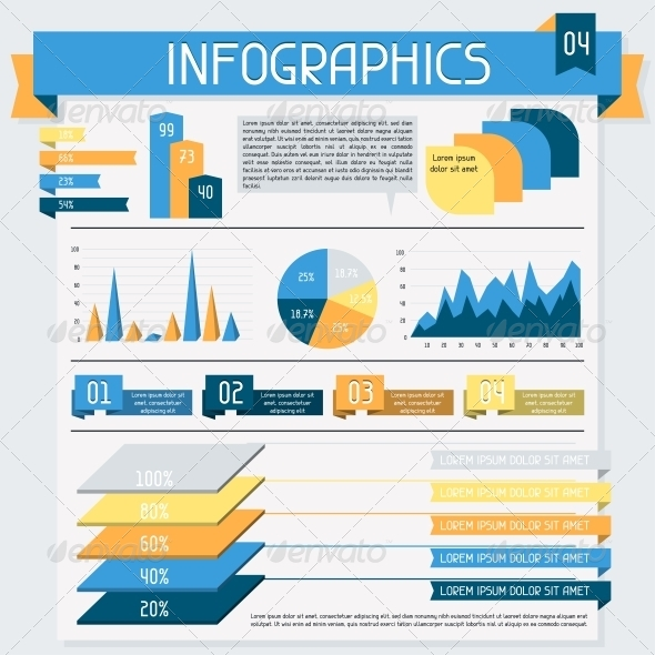Infographics Elements Collection Set