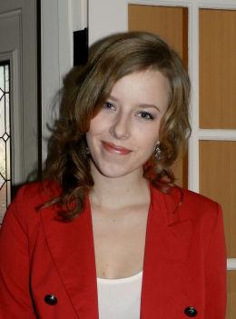 UTVEKSLINGSELEV: Norske Merete Stene går på skole i Hanover i Indiana. Foto: Privat