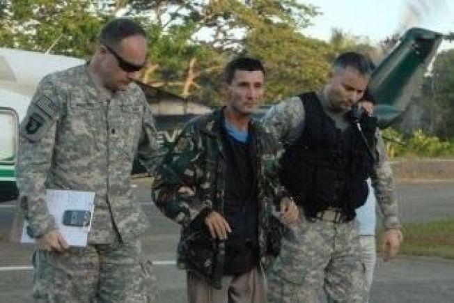 <p>LØSLATT: Rodwell ble etter løslatelsen plukket opp av et amerikansk militærhelikopter på Filippinene og fløyet til sykehus.<br/></p>