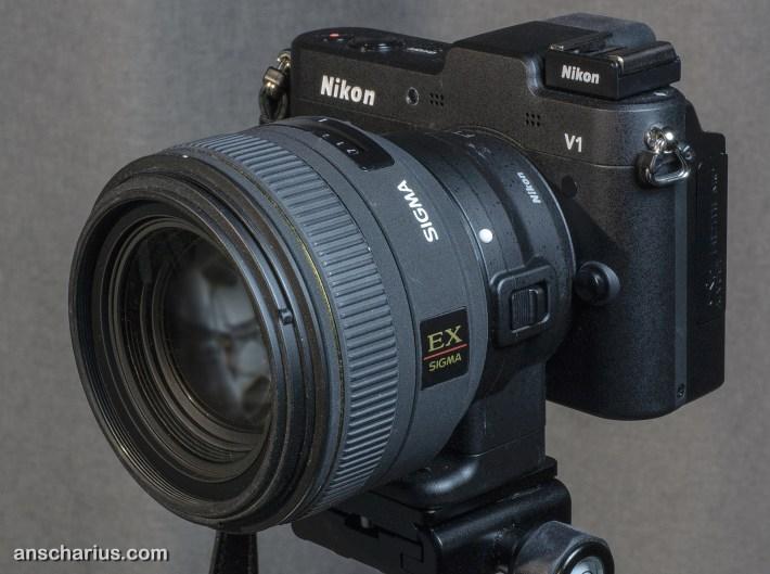 Nikon 1V1 and FT1