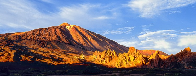 Pico del Teide Tenerife Teneriffa Hasselblad 500 CW Fuji Velvia 50