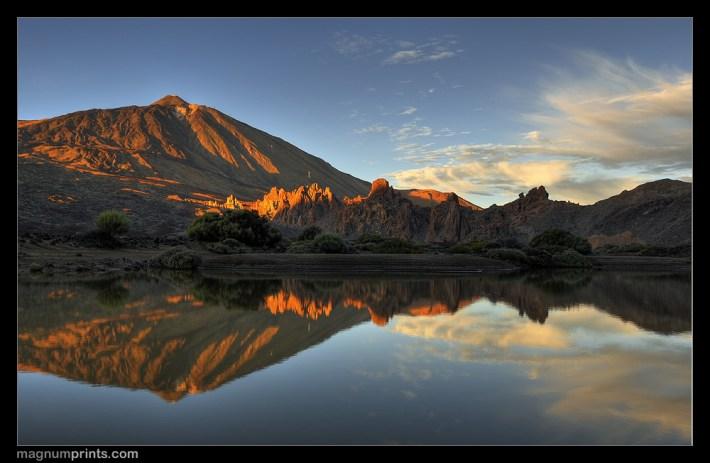 Sunset Pico del Teide Tenerife Teneriffa Nikon D300