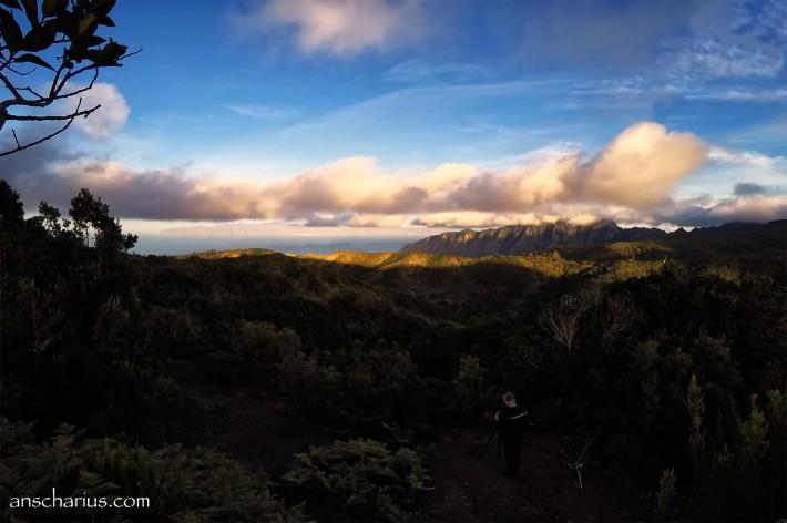 Tenerife Sunset from La Gomera II