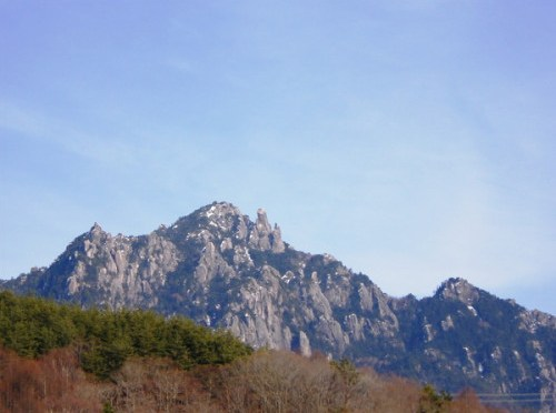 日本百名山「瑞牆山」(みずがき山荘よりピストン)