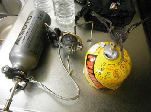 SOTO「MUKAストーブ」について(火力確認実験 *VS.PRIMUS「P114ナノストーブ」)