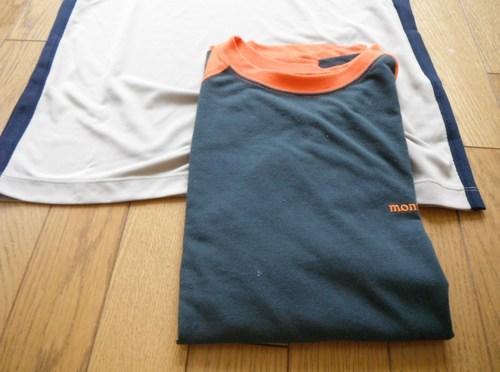 ユニクロ「ドライEXTシャツ」について(速乾性能確認実験)