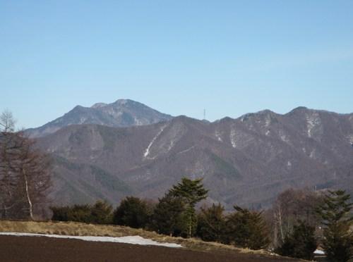 日本二百名山「御座山」(栗生コースピストン)