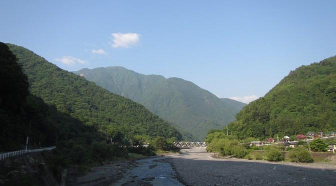日本二百名山「七面山」(表参道ピストン)