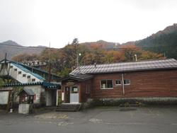 上越線「土樽」駅
