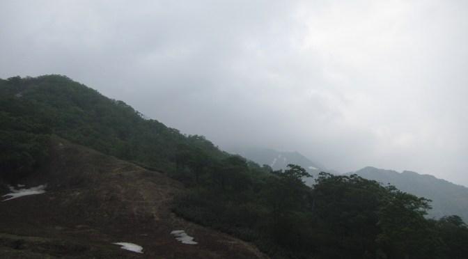 日本百名山「谷川岳」(天神尾根ピストン)